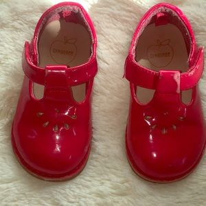 Red Paten Leather Mary Janes by Gymboree